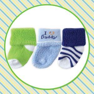 "💙New💙Three Pack ""I Love Daddy"" Socks"